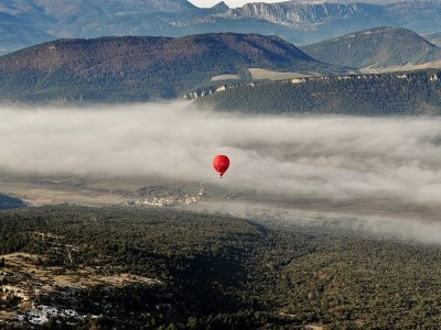 Ride on Balloon, Las Merindades, for Couples