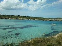 Catamarán en Menorca