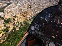 Vistas de Córdoba desde la aeronave
