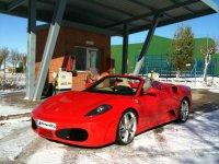 Alquiler de F430 Spider réplica rojo en Madrid 2h