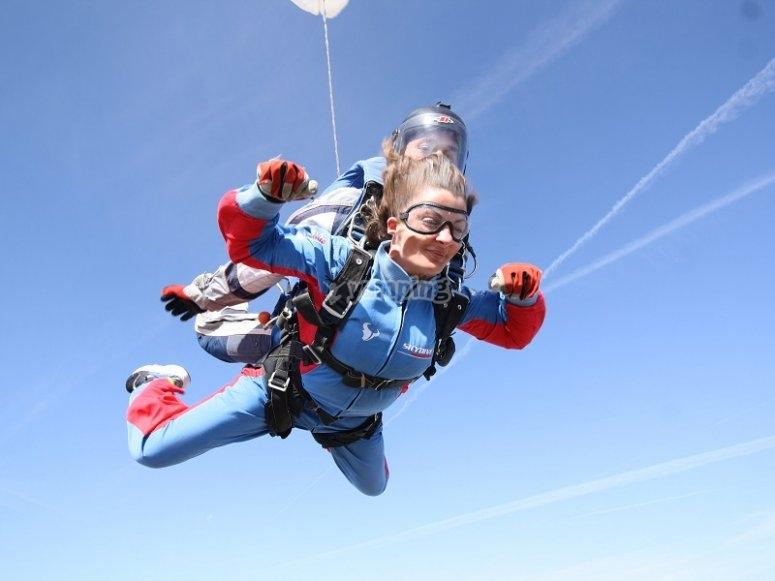 托莱多跳伞