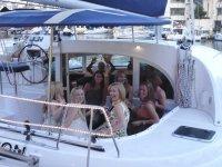 Despedida de solteras navegando