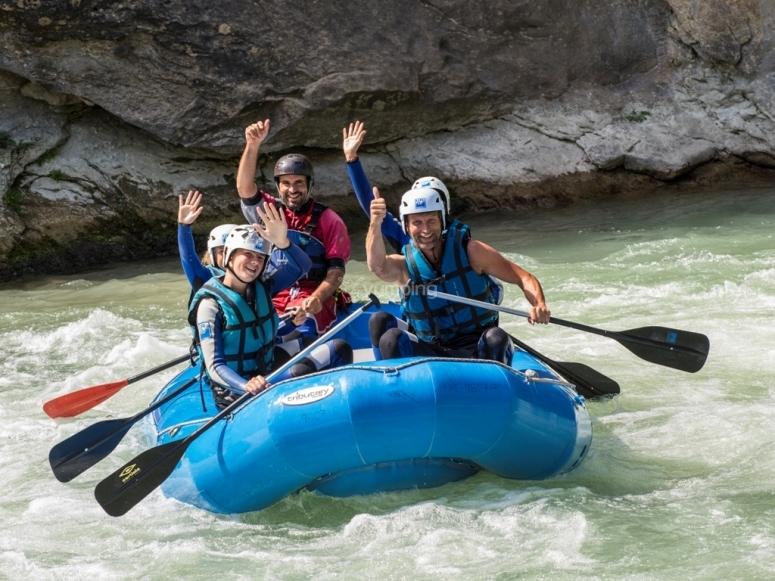 Enjoy rafting!