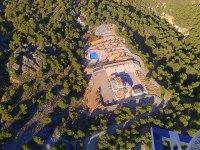 Vista aerea del recinto