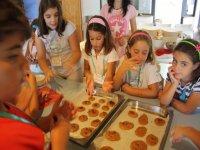 haciendo galletas