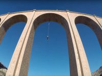 Bungee Jumping in Cieza, HD Photos and Video