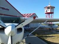En el aerodromo de Trebujena