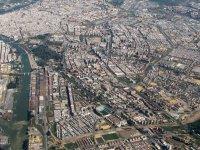 vista aerea de sevilla.