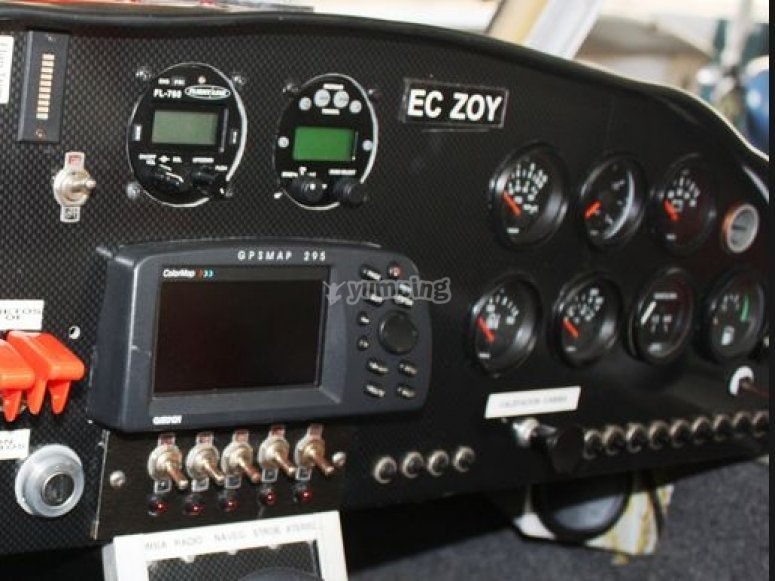 Control of the aircraft