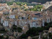 Cuenca desde las alturas.