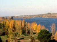 vistas del rio guadiana