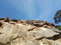 拉巴斯蒂达(Labastida)的自然攀登