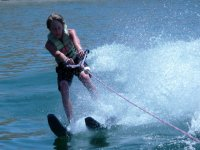 Water skiing in Cambrils