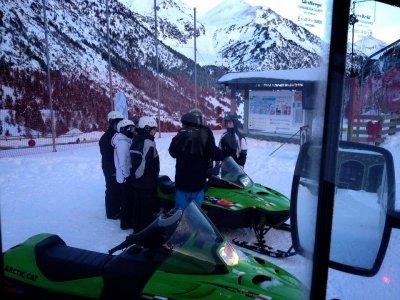 Motoslitta a due posti nel pomeriggio Andorra di Ordino-Arcal