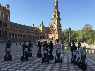 1h segway trip in the centre of Seville