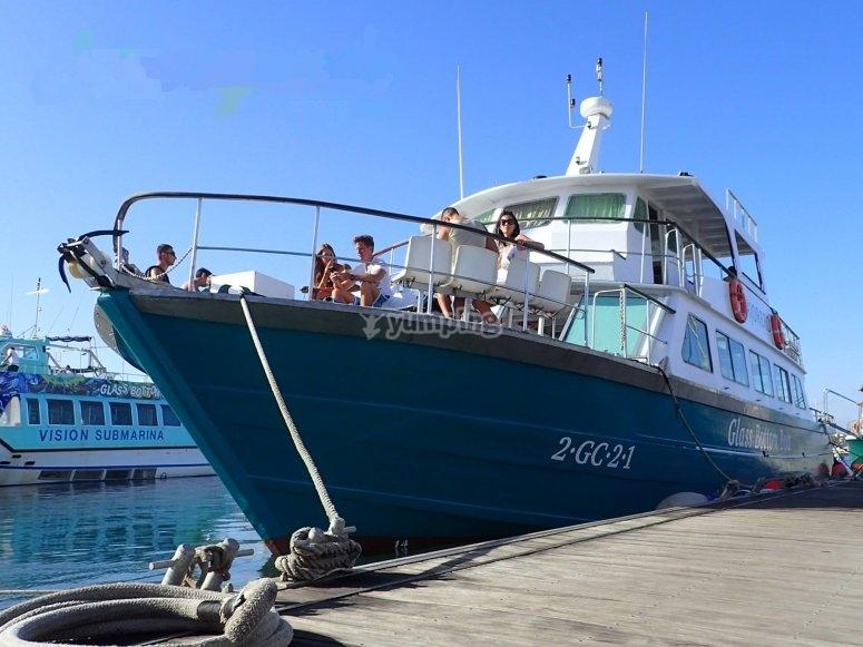 Gita in barca a Isla de Lobos