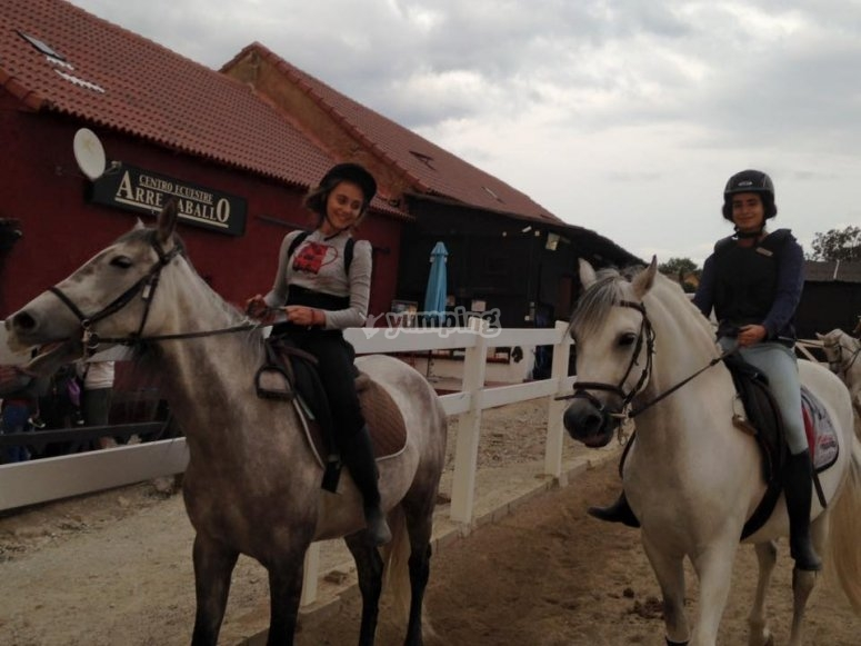 Horse-riding activities