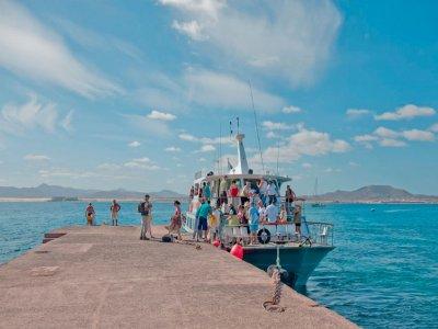 Excursión en barco Isla de Lobos Niños