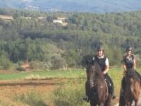 Percorso a cavallo tra le Canoves