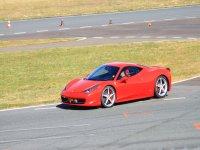 Ferrari 458 en el circuito