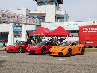 Visita il circuito di Brunete con Lamborghini Gallardo