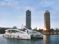 Guided Route in Barcelona: By Land, Sea & Air