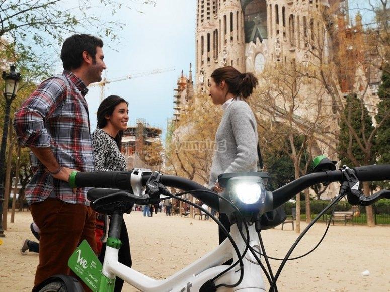 Visita guiada en ebike Barcelona