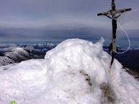 La nieve en los Picos de Urbion