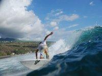 Emocion con el surf