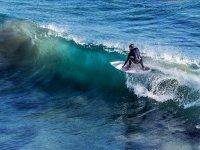 Surfeando en Cadiz