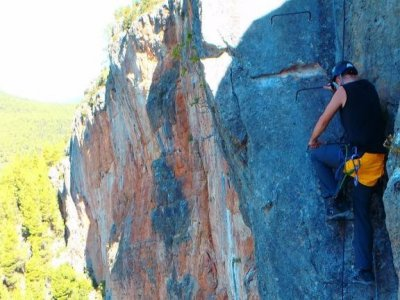Via ferrata + accommodation in Albacete