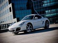 Porsche Cayman blanco
