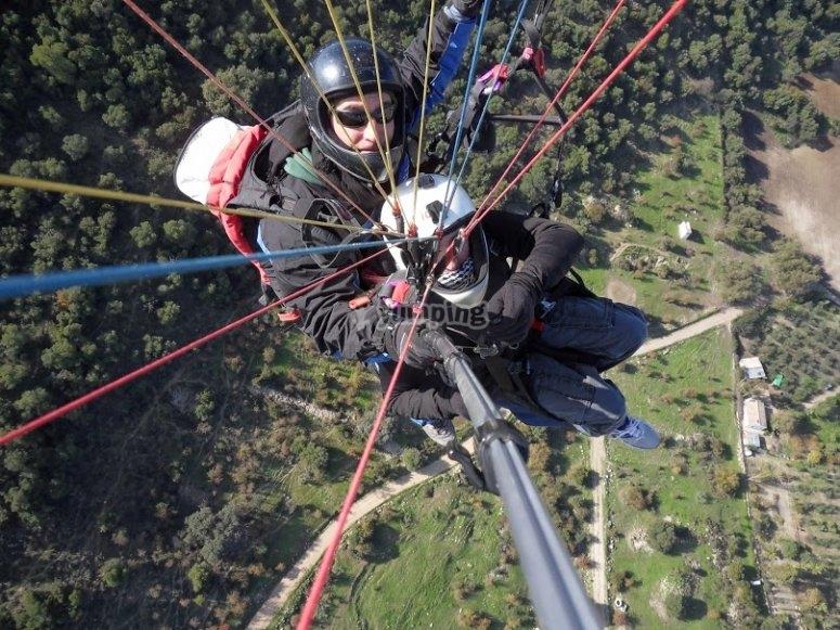 Volar en parapente en Cádiz