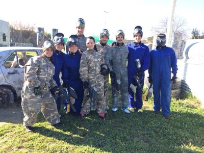 Addio con paintball a Granada con 100 palline