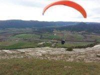 Volar en paramotor