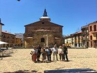 在El Grano与游客