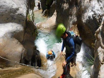 Discesa più bassa del torrente del Río Verde, facile