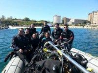 集团潜水海岸