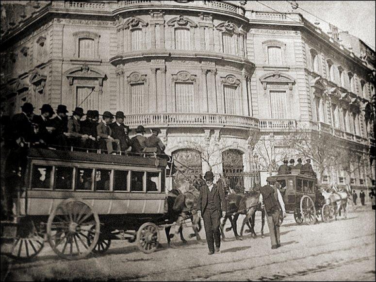 Palacio de linares en 1905