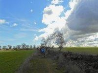 Ruta guiada en bicicleta de montaña por Fraga