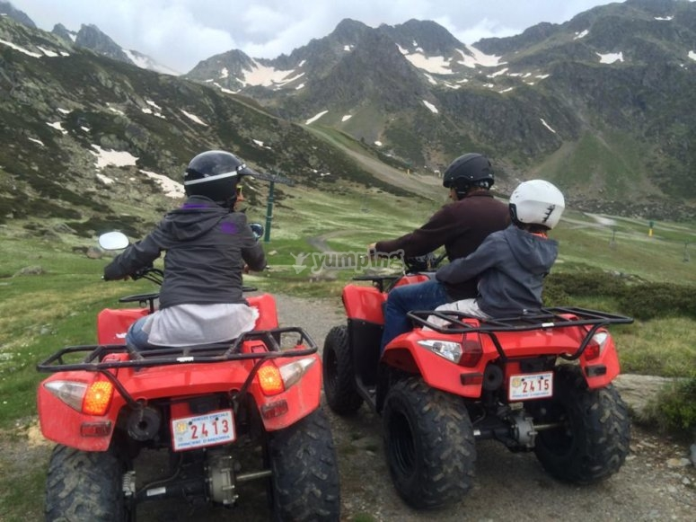 See the beautiful sights seen with the quads
