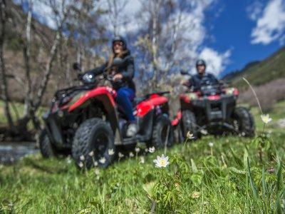 Tour in quad a due posti a Ordino Andorra 60 min
