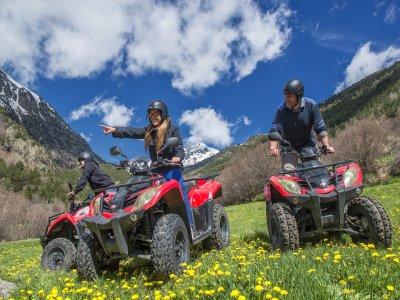 Individual quad route in La Massana Andorra 2 h