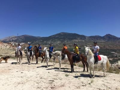 Clase de equitación en Hinojares Sierra Cazorla