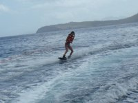 Mujer wakeboard
