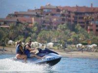 Alquiler de moto de agua biplaza en Estepona