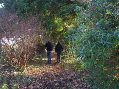 在Sierra de Cazorla徒步旅行