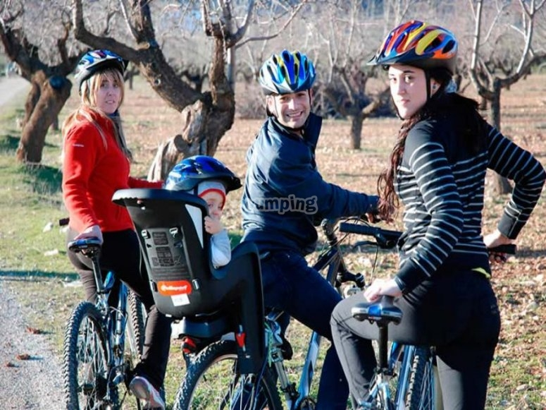 Ruta en bici por la Sierra de Cazorla