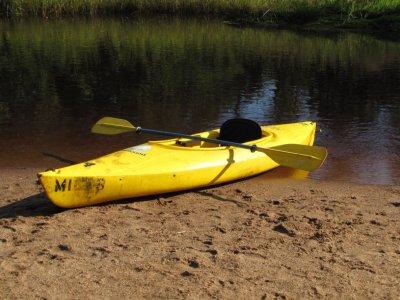 在Quesada水库租一艘皮划艇1小时