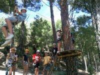 Parco zip line per bambini di San Martín Valdeiglesias
